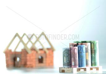 Altersvorsorge  Bauen  Bausparvertrag