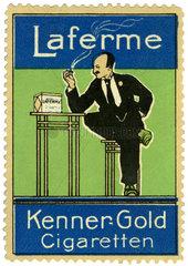 Laferme Zigaretten  Werbung  1910