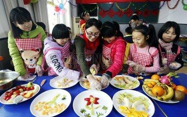 CHINA-HEBEI-SHENZHOU-WINTER HOLIDAY-CHILDREN (CN)