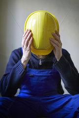 Schwarzarbeiter auf einer Baustelle in Berlin