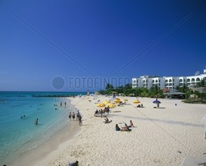 Jamaica  Montego Bay  Doctor's Cove Beach and hotel