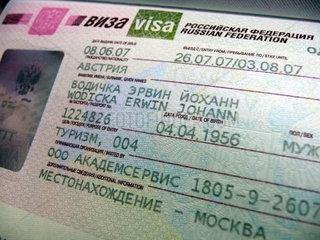 Visa fuer Russland