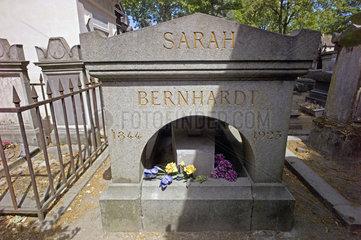 Grab von Sarah Bernhard