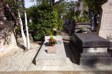 Grab von Simone Signoret und Ives Montand