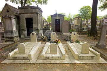 Grab der Opfer des Mykonos-Attentats