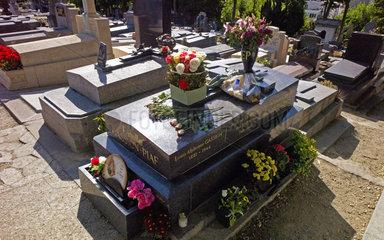 Grab von Edith Piaf