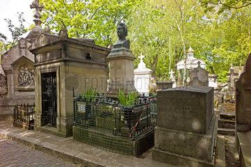 Grab von Honore de Balzac