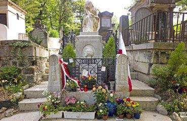 Grab von Frederic Chopin