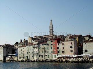 Stadt in Kroatien am Meer