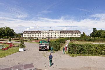 Bluehendes Barock in Ludwigsburg