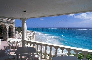 Caribbean  Barbados  Crane Bay  The beach
