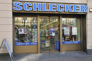 Filiale der Drogeriekette Schlecker  Kaiserstrasse  Frankfurt  Hessen  Hamburg  Deutschland  Europa