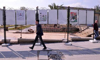 ALGERIA-ALGIERS-ELECTION-CAMPAIGN