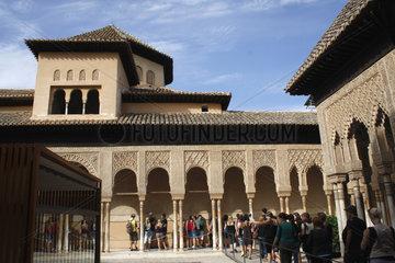 La Alhambra. Loewenhof