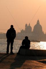 Italien  Venedig  Basilica di santa Maria della Salute
