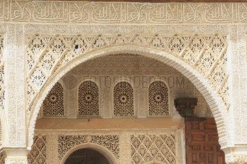 Alhambra. Koeniglicher Saal im Palacio de Generalife