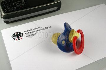 Brief vom Familienministerium