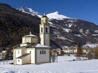 Switzerland  Engadine  Poschiavo Sancturay