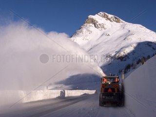 Switzerland  Engadine  Bernina pass