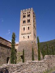 France  Languedoc-Roussillon  Prades  Saint Michel de Cuxa Abbey  Belfry