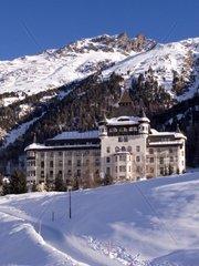 Switzerland Engadine  Pontresina Hotel