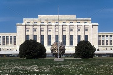 Switzerland  Geneve The Palace of Nations