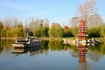Berlin - Gaerten der Welt. Chinesische Garten