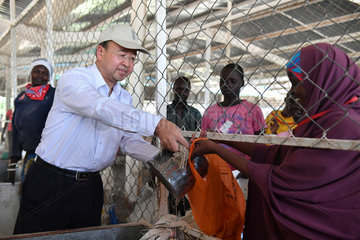 KENYA-KAKUMA REFUGEESE CAMP-CHINA-DONATION