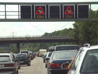 Autobahnstau