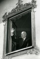 Michail Gorbatschow in Bayern  1992
