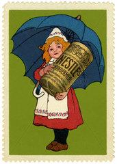 Nestle Kindermehl  Werbemarke  1912