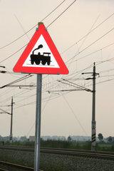 Symbolphoto railway