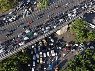 Rush hour in Paris