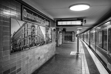 Fotografie am S-Bahnhof