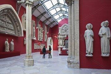 France  Paris  interior of the Palais de Chaillot  museum CitŽ de l'architecture et du patrimoine