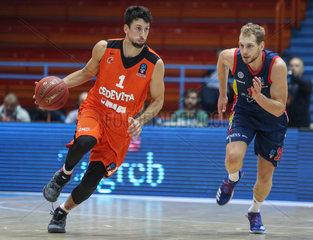 (SP)CROATIA-ZAGREB-BASKETBALL-EUROCUP-CEDEVITA ZAGREB VS MORABANC ANDORRA