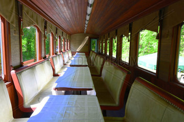 Conference of company narrow gauge wagons in KirÃÂ¡lyret Hungary