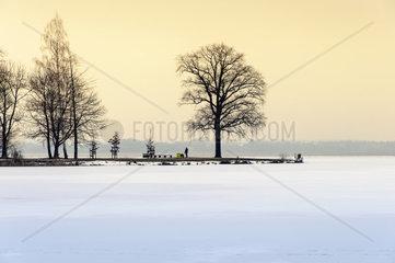 Halbinsel im Schweriner See