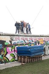 Mauer  Berlin