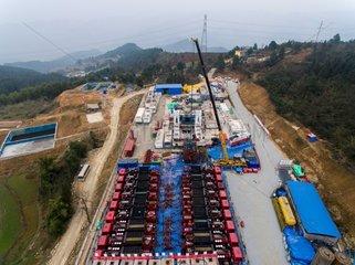 CHINA-CHONGQING-SHALE GAS PROJECT-OUTPUT (CN)