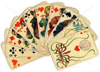 Altenburger Spielkarten  1924