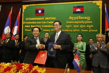 CAMBODIA-PHNOM PENH-LAOS-BORDER-PEACE AND DEVELOPMENT