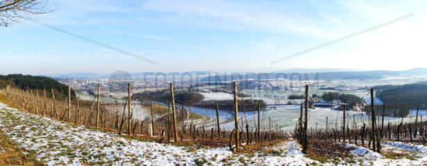 Wittlicher Senke Panorama im Winter