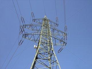 Hochspannungsleitung Strommast