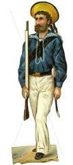 Marinesoldat  Illustration  1890