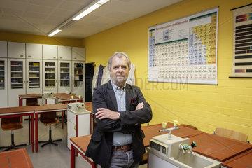 Dipl.Ing. Harald Sparringa  ehemaliger Chemielehrer von Dr. Frauke Petry