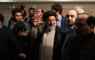 IRAN-TEHRAN-PRESIDENTIAL ELECTION REGISTRY-EBRAHIM RAISI