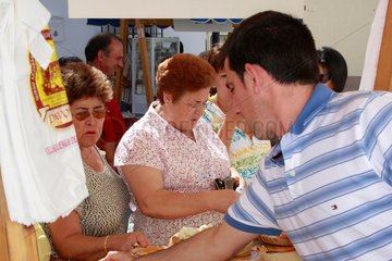 Kaese Messe in Andalusien