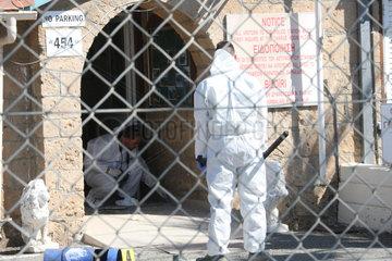CYPRUS-DHEKELIA BRITISH SOVEREIGN BASE-BOMB-ATTACK