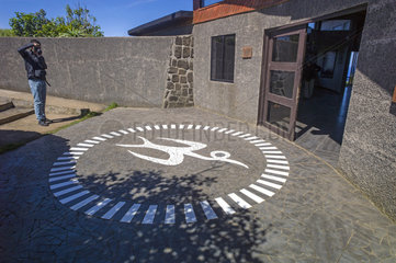 Eingang in Orongo